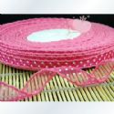 Organza ribbon, pink, 1.5cm x 1m, 1 piece, (SD152)